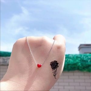 Jewelry - heart anklet